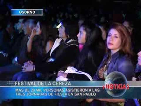 Franco El Gorila hace bailar a más de 8 mil personas en el Festival de la Cereza