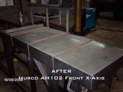 CNC Way Cover Repair