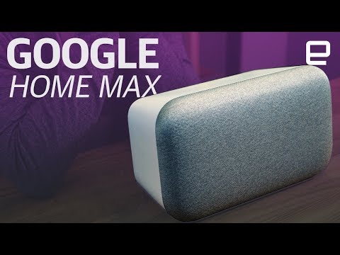 video Google Home Max