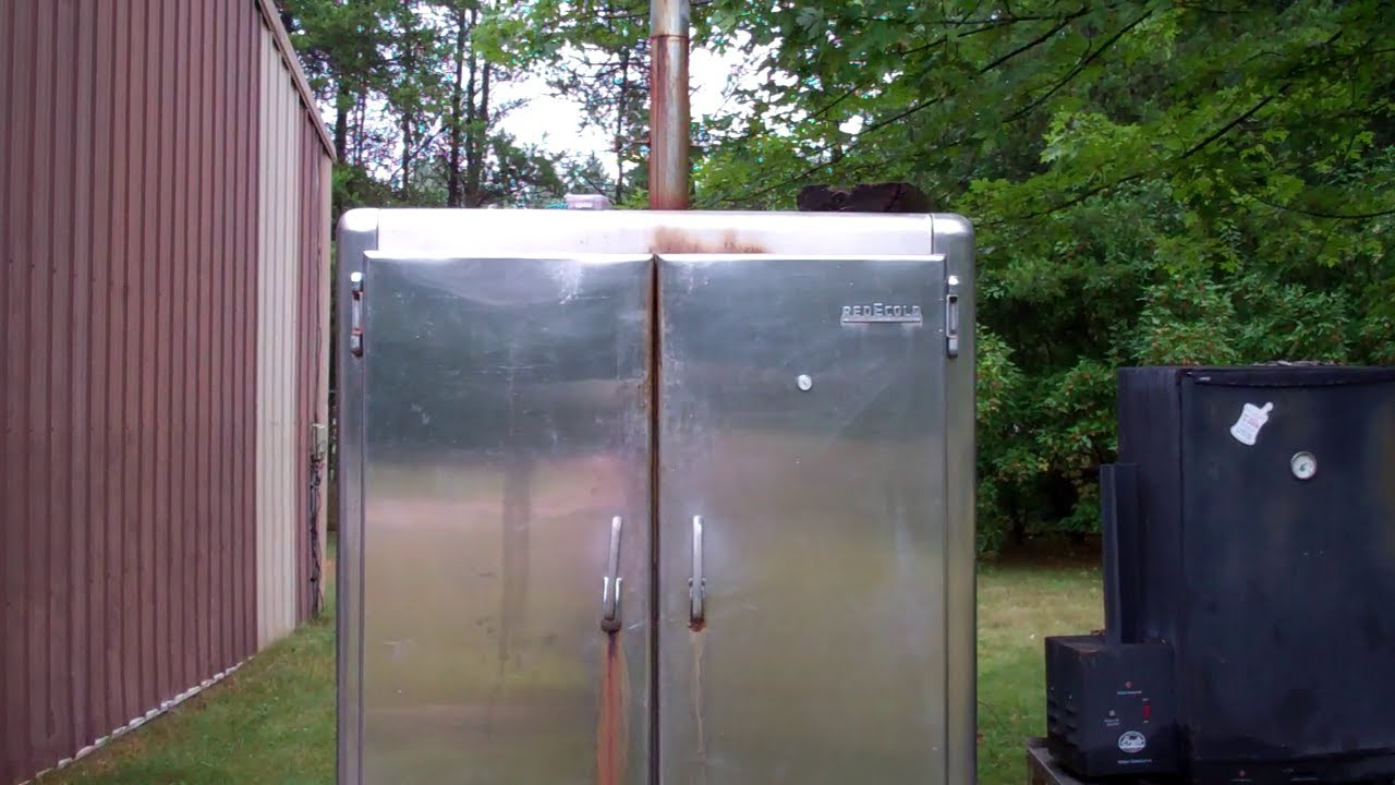How I Converted And Old Freezer Refrigerator Into A