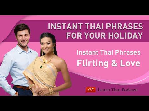 Instant Thai Phrases: Flirting & Love