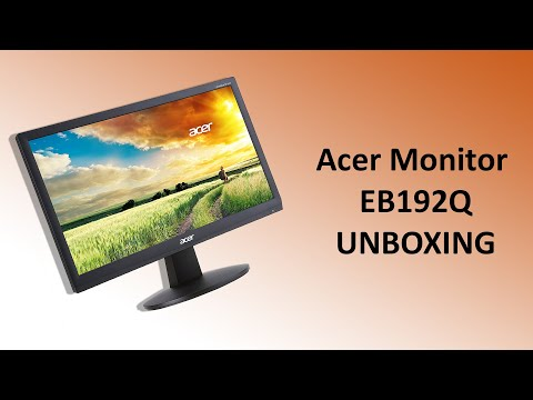 video Acer 18.5 inch HD LED – E1900HQ