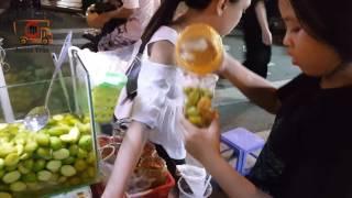 Street food in VietNam - Shake Mango - Xoai Lac Cho Ben Thanh