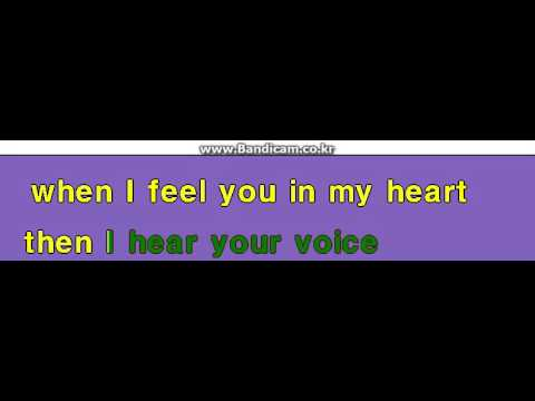 English Version Instrument karaoke 거미 Gummy You Are My Everything