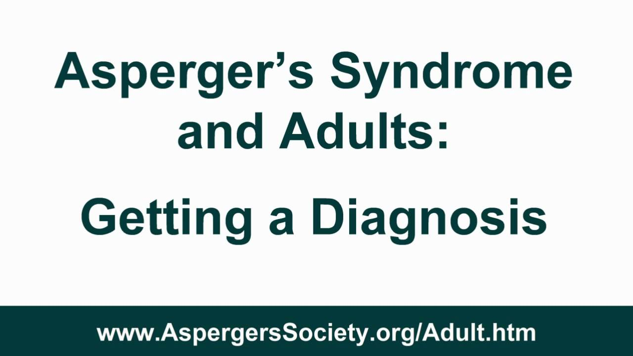 aspergers adults diagnosis