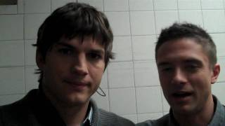 Ashton Kutcher & Topher Grace Discuss Best & Worst Valentine's Day Gifts