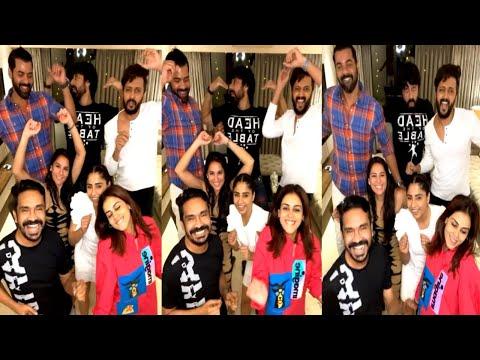Actress Genelia, Rithesh's latest dance video, adorable moments