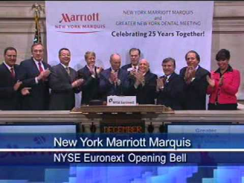 The Greater New York Dental Meeting Rings the Opening Bell at the New York Stock Exchange