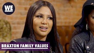 'Tamar Divorced & Toni Married?' Sneak Peek | Braxton Family Values | WE tv