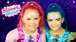 Shimmer and Shine Full Makeup, Hair, and Costumes