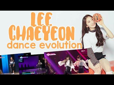 Lee Chaeyeon Dance Evolution [KpopStar3-Sixteen-Produce48]
