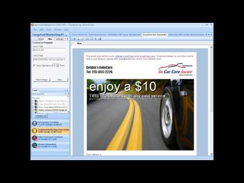 Service Reminders   Customize Marketing Incentives   eAutoClub ServiceIntelligence CRM 360