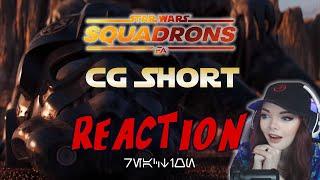 Introducing Varko Grey!!! - Star Wars Squadrons CG Short REACTION!