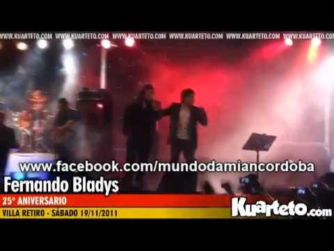 Damián Córdoba con Fernando Bladys - MDC