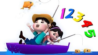 12345 Once I Caught a Fish Alive | Numbers Song | Counting Song | Nursery Rhymes by Farmees - YouTube