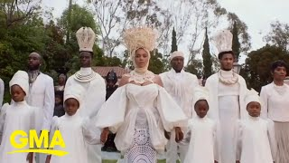 A look at Beyoncé's 'Black is King' and how fans are reacting l GMA