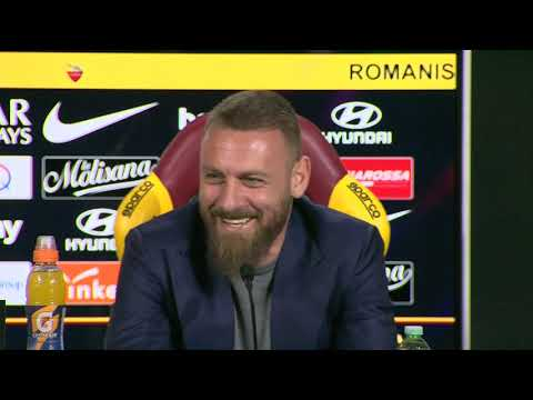 VIDEO - Riguarda la conferenza stampa integrale di De Rossi e Fienga