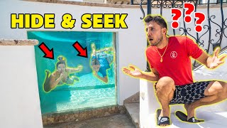Extreme HIDE and SEEK Challenge in our New MANSION!! | The Royalty Family