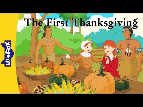 The First Thanksgiving   History   Holidays   Little Fox   Animated Stories for Kids