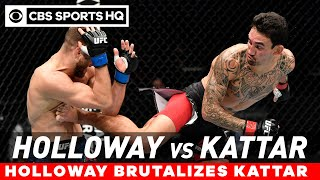 Holloway brutalizes Kattar in lopsided decision victory | UFC Fight Night Recap | CBS Sports HQ