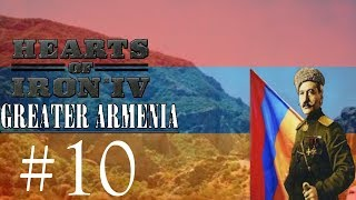 Hearts of Iron 4-Greater Armenia #10 Preparing for the Eastern Front
