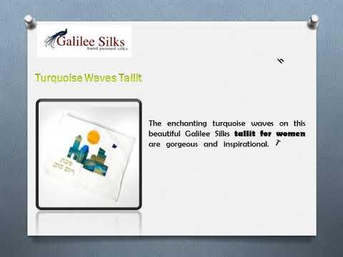 Explore Galilee Silk's Huge Range of Designer Tallit for Wedding