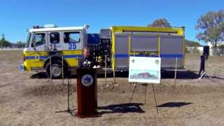 New Fire Station 35 Groundbreaking Ceremony - October 2015
