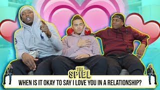 When is it okay to say I love you in a relationship?   The Spiel