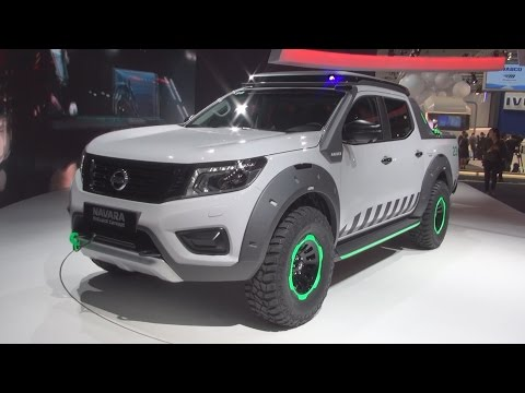 Nissan Navara EnGuard Concept Exterior and Interior in 3D