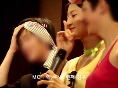 [Fancam] Chanyeol dressed up as a girl pre-debut