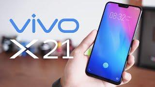 Mở hộp smartphone đầu tiên có vân tay trong màn hình Vivo X21