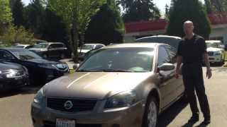 2005 Nissan Altima S - In 3 minutes you'll be an expert on the 2005 Altima