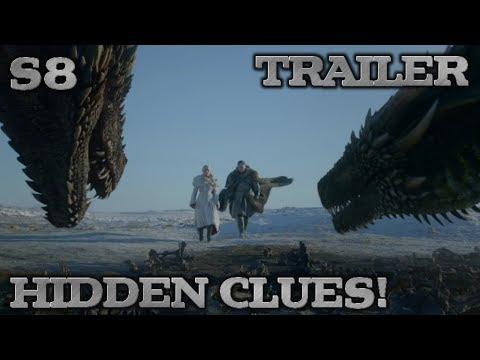 Game of Thrones Season 8 Trailer Breakdown and Easter Eggs | The Final Season