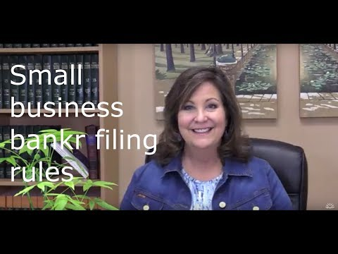 How To File Bankruptcy for a Small Business