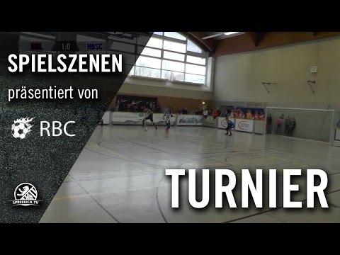 RB Leipzig - Hertha BSC (13. Range Bau Cup, U17 B-Junioren, Gruppenphase) - Spielszenen | SPREEKICK.TV