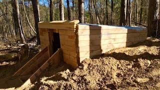 Backyard Bunker Construction