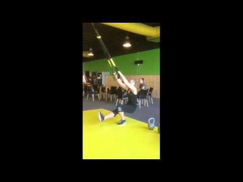 Workout of the week TRX Single leg Squat