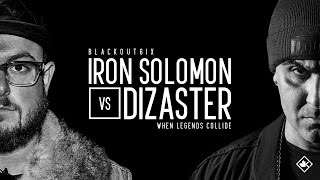 KOTD - Rap Battle - Iron Solomon vs Dizaster | #BO6ix