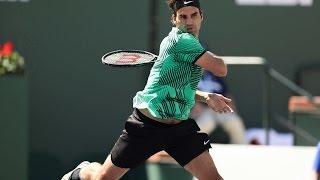 ATP SF Highlights: Federer d. Sock
