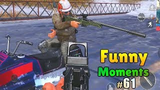 NEW PUBG MOBILE FUNNY MOMENTS , EPIC FAIL & WTF MOMENTS 61