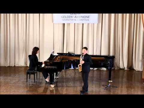 GOLDEN SAXOPHONE 2015 Kenta Igarashi - E.Bozza, Aria