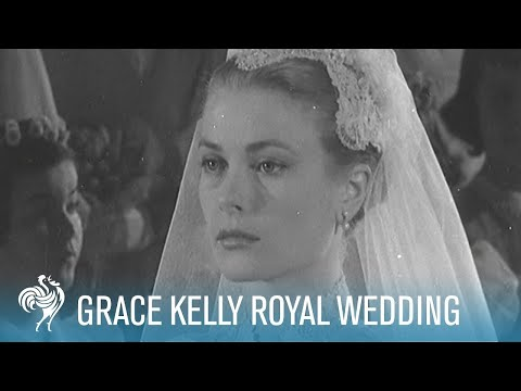 Grace Kelly Royal Wedding to Prince Rainer III