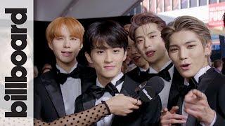 "NCT 127 Explain ""Full Movie"" Aspect of New Album & First English Single at 2018 AMAs   Billboard"
