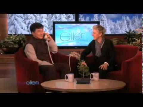 Jackie Chan Has Some Fun