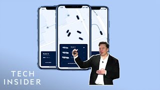 Watch Elon Musk Unveil Plans For A Tesla Ride-Hailing App