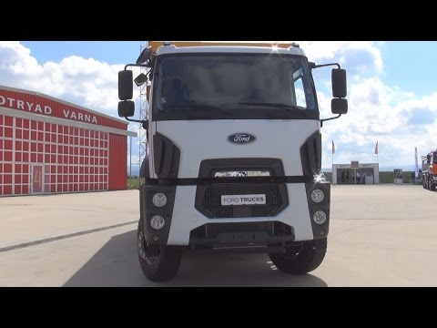 Ford Trucks Cargo 4142D Euro 6 Tipper Truck (2016) Exterior and Interior in 3D