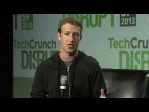 Mark Zuckerberg On Mobile | Disrupt SF 2013