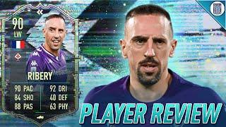 90 SBC TOTY FLASHBACK RIBERY PLAYER REVIEW! FLASHBACK RIBERY - FIFA 21 ULTIMATE TEAM