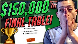 $5200 The Big Game FINAL TABLE! ($150,000 to 1st)