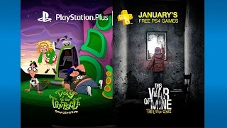 Free PlayStation Plus games for January include a remastered tentacle